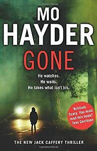 Gone: Jack Caffery series 5, Hayder, Mo, Used; Good Book