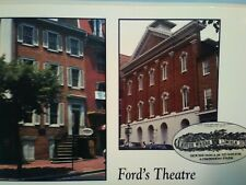 VINTAGE PHOTO POST CARD FORD'S THEATRE  WASHINGTON D.C.