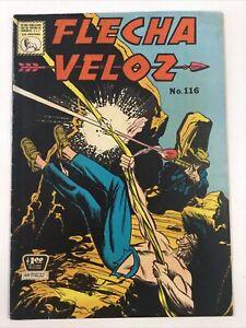 1964 SPANISH COMICS FLECHA VELOZ #116 WESTERN EDITORIAL LA PRENSA MEXICO ESPAÑOL