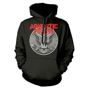 Agnostic Front 'Against All Eagle' Pullover Hoodie - NEW