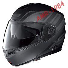 CASCO NOLAN N104 VOYAGE  FLAT BLACK Colore  18 Tg. S