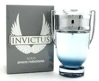 Paco Rabanne Invictus AQUA 3.4 oz. Eau de Toilette Spray for Men. New In Box.