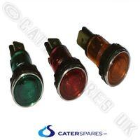 Green Neon Panel Mount Indicator Light 220VAC Wired UK Seller