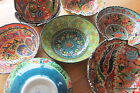 Turkish ceramic bowls - 20cm - colourful, handmade and hand painted