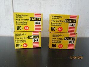 Faller 4, HO or N Gauge, Stop N Start Switch, Mint in OB.