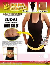 Burn Shaper Camiseta Sport Tank Top, hot shaper, thermo shaper,  Sizes S/M/L/XL.
