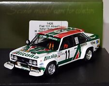 FIAT 131 ABARTH #11 ROERL SAFARI 1979 TROFEU 1426 1:43