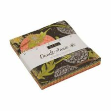 Moda Fabric Dandi Annie Charm Pack - Patchwork Quilting 5 Inch Squares