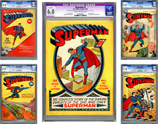 SUPERMAN #1-2-3-4-5 CGC 6.0+ THE *HOLY GRAIL* OF ALL COMICS PAST & PRESENT 1939