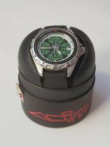 Element Technologies Animal W135 wrist watch, black/fluro, water resistant 5atm