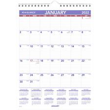 At A Glance Mini Monthly Wall Calendar 8 X 11 Jan Dec 2022 Pm12822 Wall