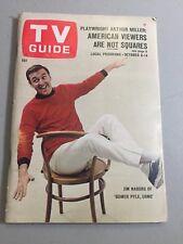 1966 TV Guide October 8 - Jim Nabors; Ida Lupino; That Girl; Arthur Miller;