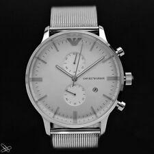 EMPORIO ARMANI reloj de hombre meshband ar0390 ACERO inox. color: PLATA