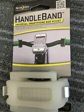 Nite Ize® HandleBand™ Universal Smartphone Bar Mount WHITE