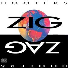 THE HOOTERS - Zig Zag (CD 1989) USA First Edition EXC CK 45058 incl 500 Miles