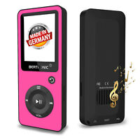 BERTRONIC Made in Germany BC02 MP3-Player - Pink - 100 Stunden Wiedergabe