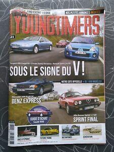 Youngtimers magazine N°118 Peugeot 406 coupé Citroën Xantia Alfa Sprint Saab
