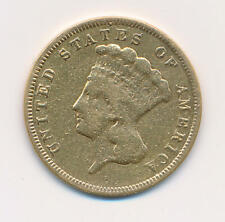 1860 S $3 Dollar Gold Princess. RAW