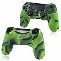 1x Camouflage Navy Green Rubber Cover for SONY PlayStation 4 PS4 Controller