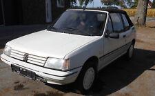 Peuoet 205  1,2 Cabrio Erstzulassung    10.03.1992