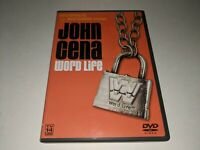 JOHN CENA: WORD LIFE WWE Wrestling DVD 2004 Thuganomics Documentary/Matches