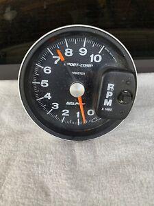 AUTOMETER AUTO METER SPORT COMP MONSTER Tachometer 10,000 RPM Works