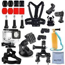 NIUTOP XiaoMi Yi 2/4k Accessori Kit Set di 23 fotocamera in modo sicuro per le auto FORZA