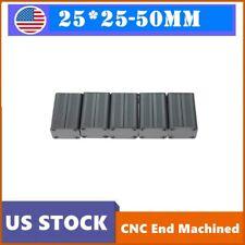 5pcs Enclosure Electronic Project Case 502525mm Hot Aluminum Box Extruded Pcb