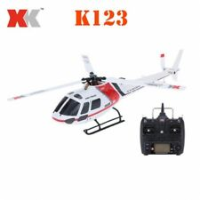 XK K123 Brushless RC Helicopter Scale 3D6G System RTF Upgrade With remotecontrol