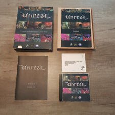 Unreal, GT Interactive, PC CD-ROM, Big Box