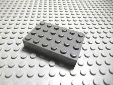 Lego 1 altdunkelgraue dicke Bauplatte 4x6 2356 Set 6332 10029 6636