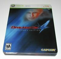 Devil May Cry 4 Collector's Edition for Xbox 360 Complete Fast Shipping!