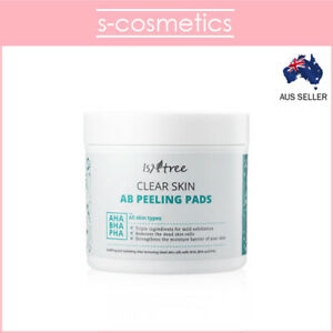 [ISNTREE] Clear Skin AB Peeling Pads | 70 Pads 145ml | Exfoliating Toner Pads