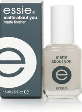ESSIE MATTE ABOUT YOU 100% Authentic New, Full Size 0.46OZ