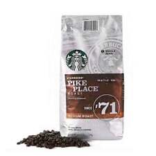 Starbucks Pike Place Medium Roast Whole Bean Coffee 40Oz Exp 01/20