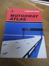Bartholomew Motorway Atlas 1979 British Motorways Routefinder