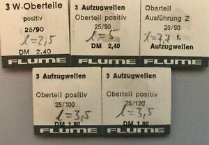 Aufzugswellenverlängerung positiv Oberteile Flume 0,9  1,0 oder 1,2mm Gewinde