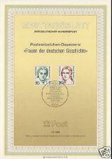 Berlin 1986: Frauen-Ersttagsblatt der Nr. 770+771! Gut erhalten! 1611