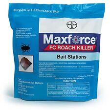 MAXFORCE FC ROACH Pest Control BAIT STATIONS Bag of 72