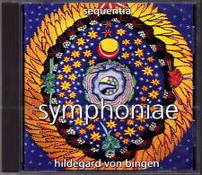 Hildegard von BINGEN Symphoniae O clarissima mater Spiritul Songs SEQUENTA CD