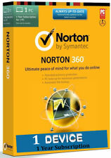 Norton 360 Security 2019  | 1 Pc for 1 Year | Antivirus | Activation Code