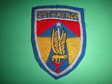 Hand Sewn Patch US Army 25th AVIATION COMPANY 2nd Field Force In Vietnam