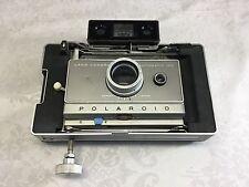 Polaroid land camera Automatic 100 with 581 Portrait attachment