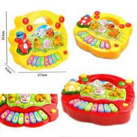 Baby Kids Musical Educational Animal Farm Piano Developmental Music Toy Gift  BT