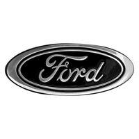 """DefenderWorx 96403 """"Ford"""" Oval Black Grille/Tailgate Emblem"""