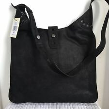 Lucky Brand Rose Shoulder Bag Purse Black Leather Women s NEW NWT  198 7a2ab3d62128a