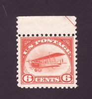 Scott # C-1.....6c Curtiss Jenny...Mint OG NH..Center Line  Arrow.. Cat. 110.00