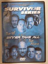 WWF Survivor Series TEAM WWF VS TEAM ALLIANCE WINNER TAKE ALL - DVD