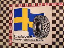Swedish Tyres Sticker - Saab 95 96 99 94 Volvo P1800 Amazon GT 900 9000 240 440