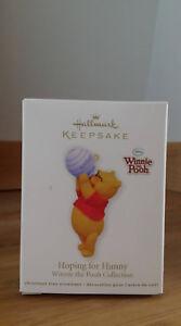 Hallmark Winnie the Pooh Hoping for Hunny 2011 Christmas Ornament